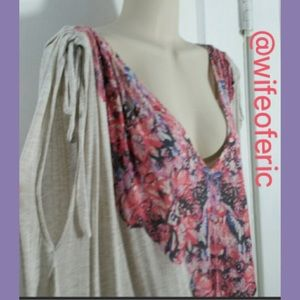 Free People Butterfly Top Coverup